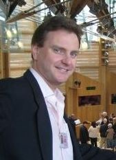 Myself in the Scottish Parliament where I work part-time as a researcher.