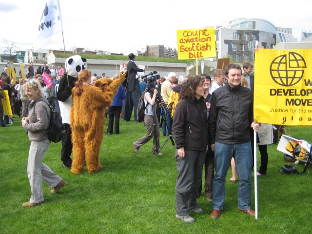Demonstrators at the climate change rally #2