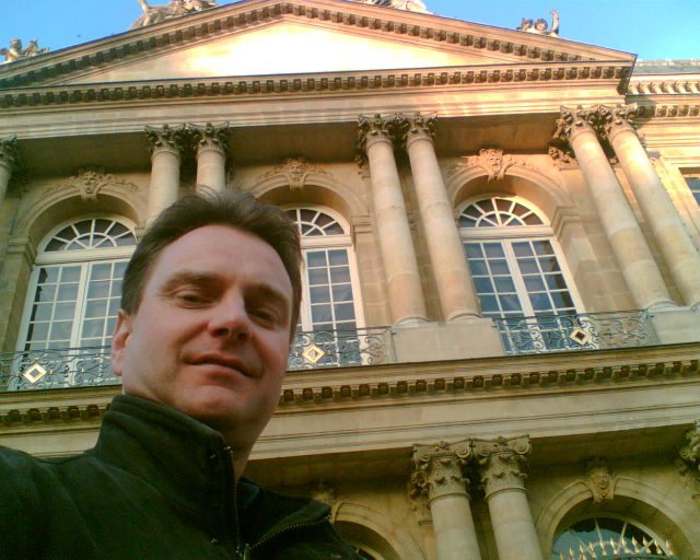 October 2008.  Myself in Paris, a city I love!