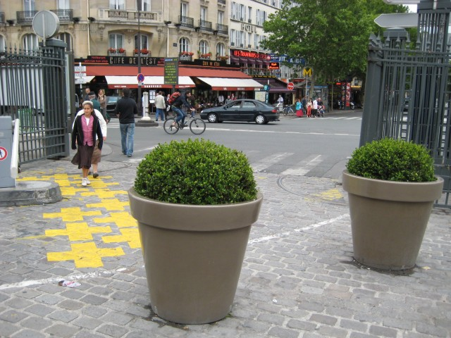 The Brasserie Gare de l´Est, where I had a coffee.