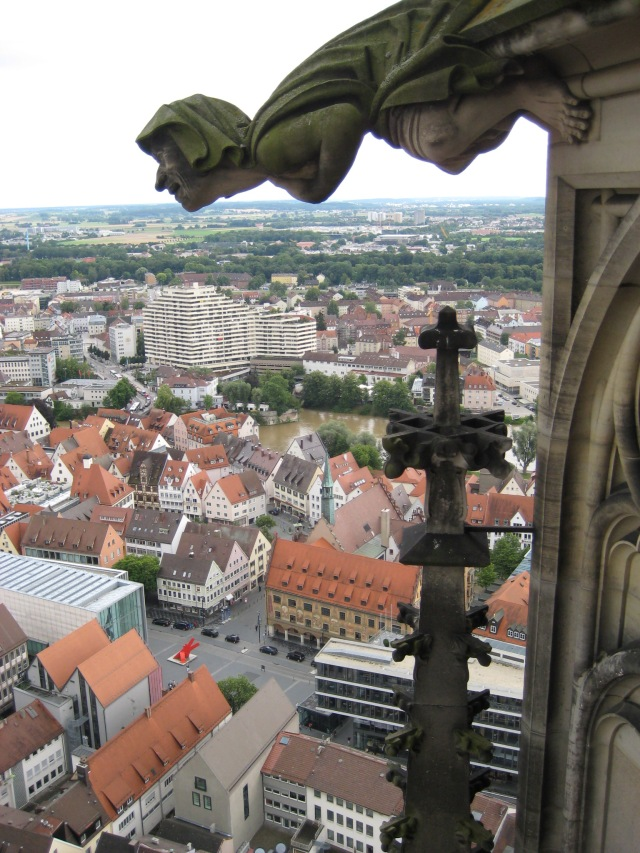 View from Ulm Cathedral spire #1.