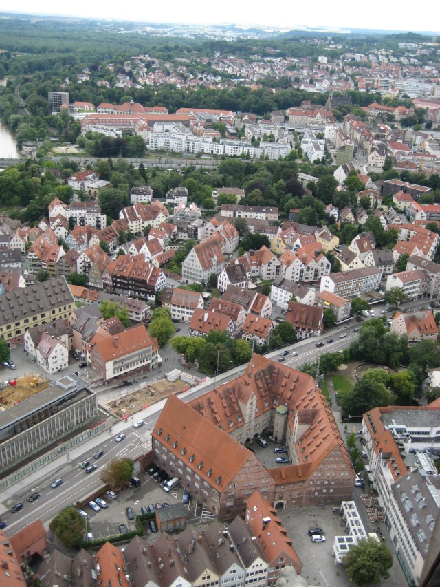 View from Ulm Cathedral spire #2.
