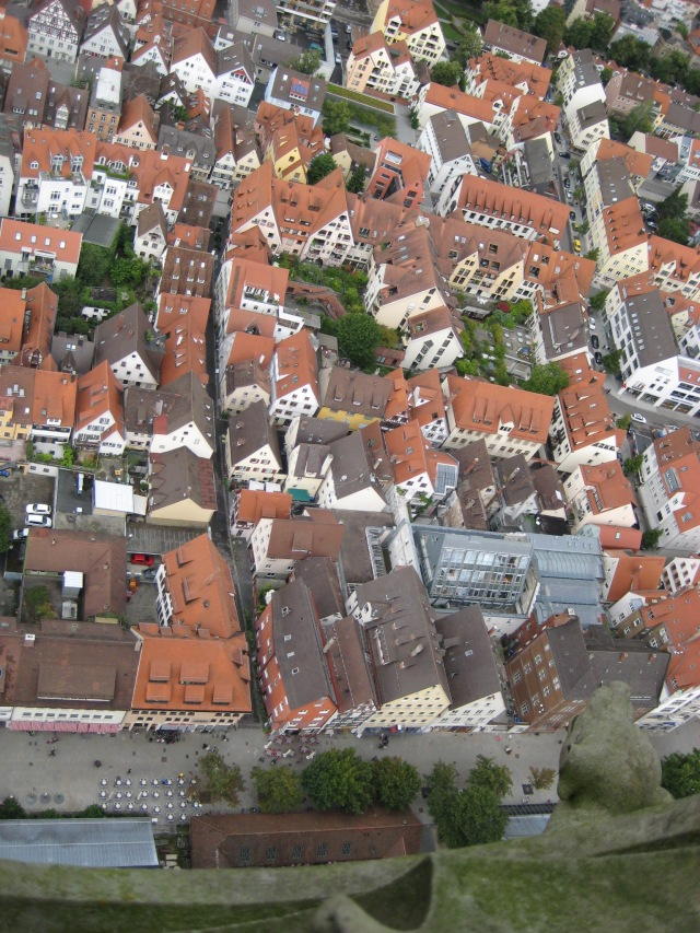 View from Ulm Cathedral spire #3.