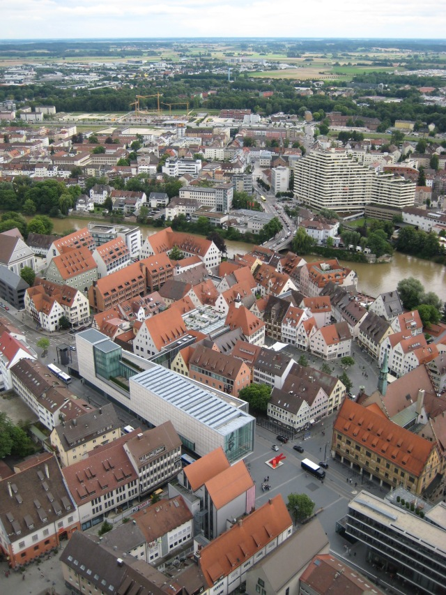 View from Ulm Cathedral spire #4.