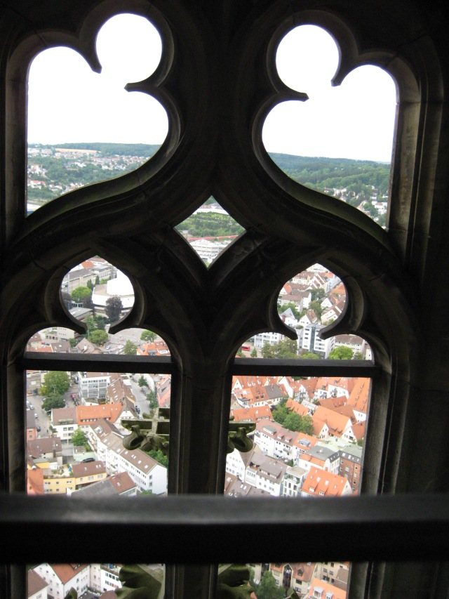Inside Ulm Cathedral spire #1.