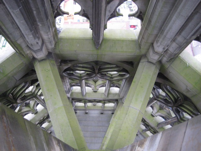 Inside Ulm Cathedral spire #2.