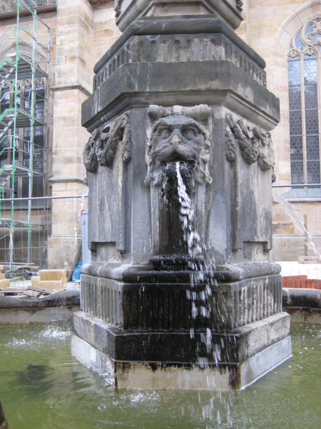 Emetic fountain.
