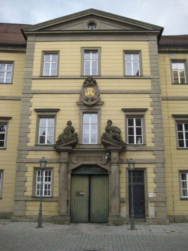 Building in Bayreuth.
