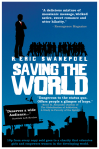 "The cover of my ebook, ""Saving the World"", designed by Kit Foster."