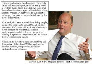 Stephen Hester, RBS CEO