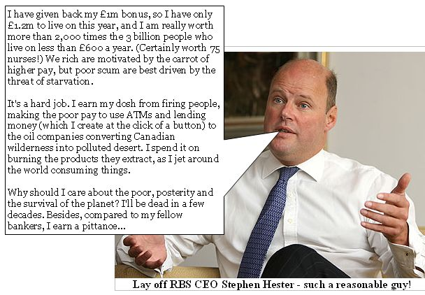 Stephen Hester, RBS CEO