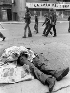 A victim of the Pinochet regime