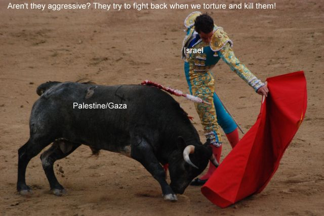 The unfair bullfight.