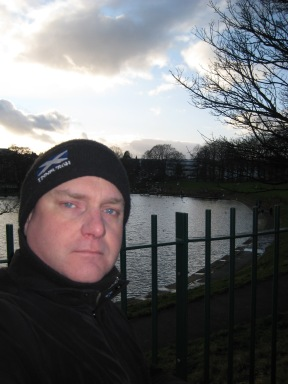 R. Eric Swanepoel in Inverleith Park