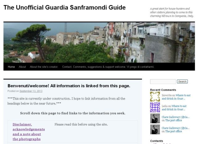 The Unofficial Guardia Sanframondi Guide