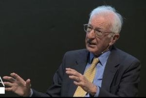 Richard Layard: 'If £1 is transferred to a poor person from someone ten times richer, the poor person gains 10 times as much happiness as the rich person loses. '