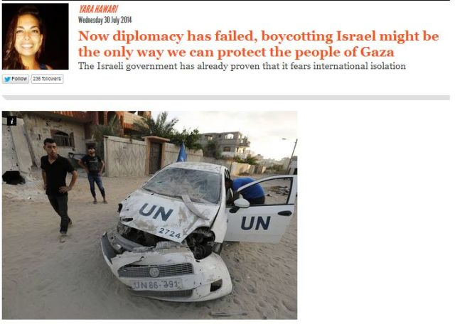Now diplomacy has failed, boycotting Israel might be the only way we can protect the people of Gaza The Israeli government has already proven that it fears international isolation