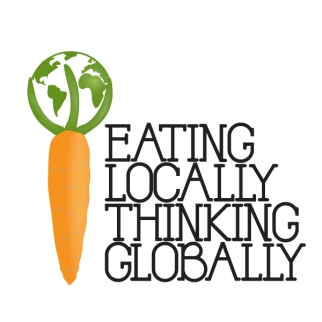 Eating locally, thinking globally.
