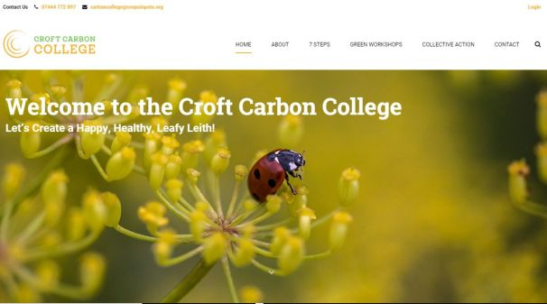 Croft Carbon College - exciting and enjoyable workshops on carbon saving and more.