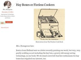 Hay Boxes or Fireless Cookers