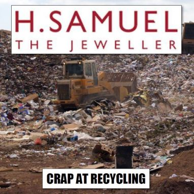Ratner's legacy stores crap on recycling